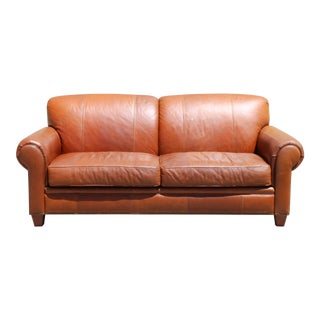 Leather Broyhill Sofa