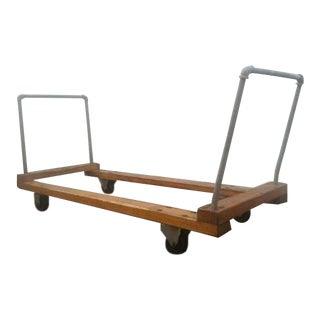 Industrial Chic Wooden & Metal Cart
