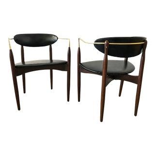 Dan Johnson Viscount Chairs - A Pair