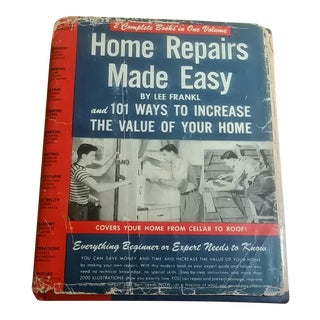 "1949 Home Repairs Made Easy"" Book"