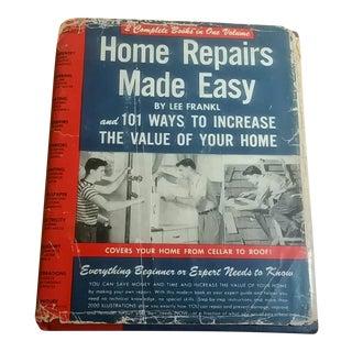 "1949 Home Repairs Made Easy"" Book"