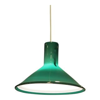 Holmegaard Green Pendant Lamp from Denmark.