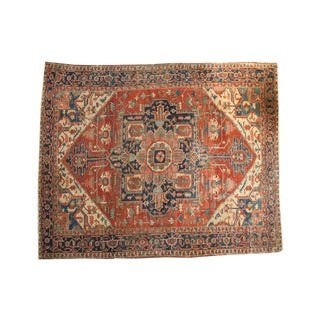 "Antique Serapi Carpet - 9'8"" x 11'8"""