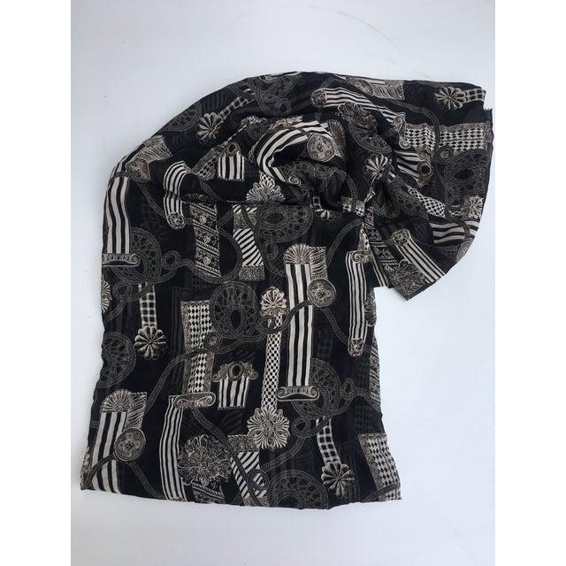 Versace Column & Rope Chiffon Fabric - Image 3 of 8