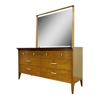 John Van Koert Drexel Profile Walnut Dresser