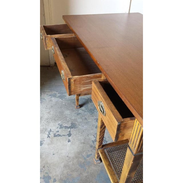 Mid Century Two Tier Desk Table - Image 3 of 5