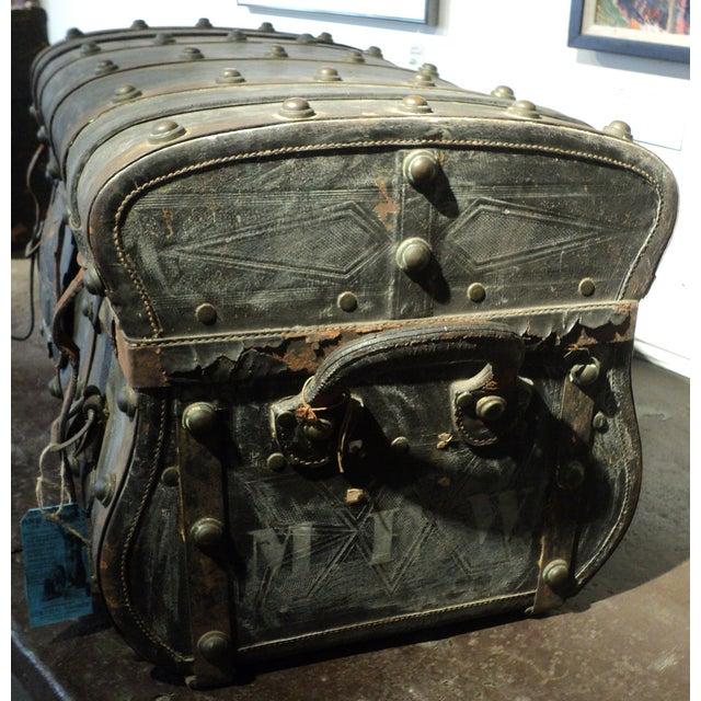 Antique Storage Trunk - Image 5 of 11
