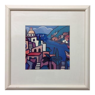 Early Hand Signed Romero Britto Lithograph