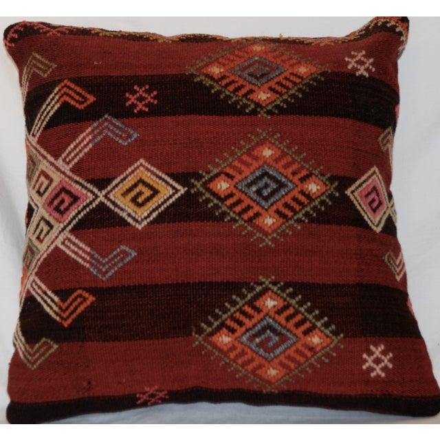 Handmade Vintage Throw Pillows : Vintage Handmade Wool Decorative Boho Pillow Chairish