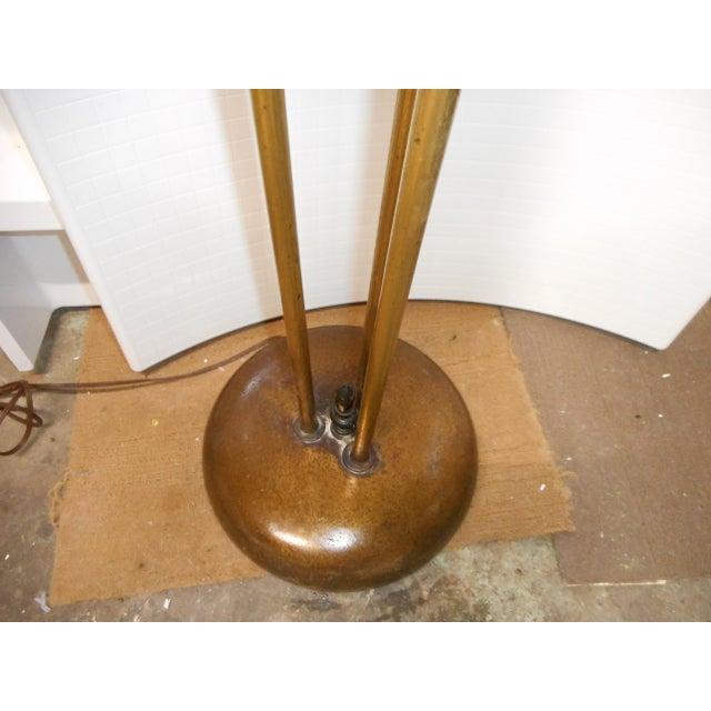 Gerald Thurston Mid Century Walnut Floor Lamp - Image 5 of 8