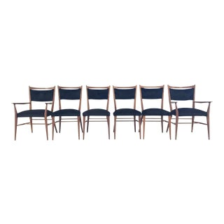 Forsyth Paul McCobb for Directional Dining Chairs in Brazilian Cowhide - Set of 6