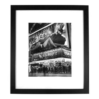 "Andreas Feininger's ""Kismet Billboard Depicting Marlene Dietrich"" Photograph 1944"