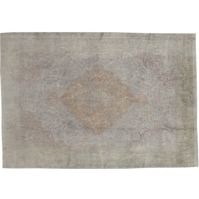 "Vintage Turkish Sivas Rug - 5'0"" x 7'1"" - Image 1 of 3"