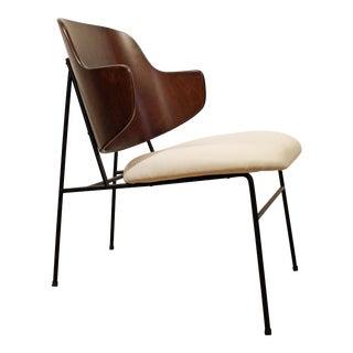 Mid-Century Danish Modern IB Kofod Larsen Penguin Accent Lounge Chair