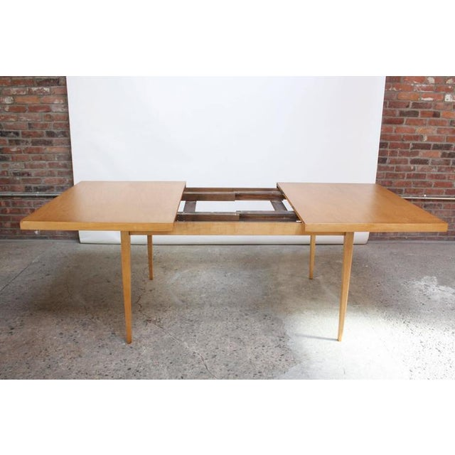 Image of Paul McCobb Maple Extendable Dining Table