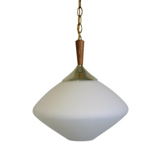 Danish Style Tear Drop Swag Pendant Lamp