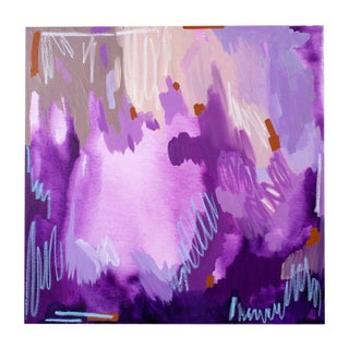 Linda Colletta Grand Violet I Painting