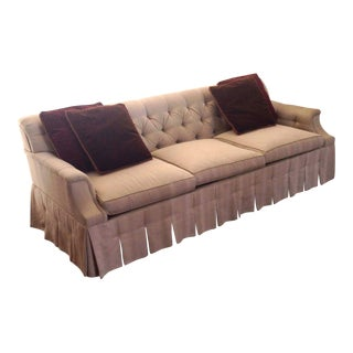 Hickory Chair Beige Sofa