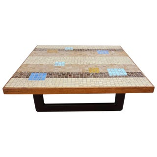 Choice Mosaic Tile Square End / Coffee Table