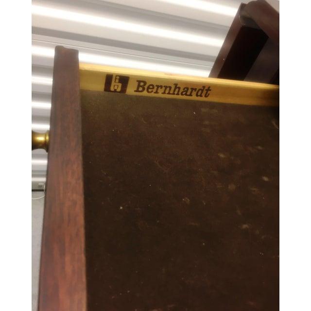 Bernhardt Traditional Mahogany Drop Leaf Rolling Server - Image 11 of 11