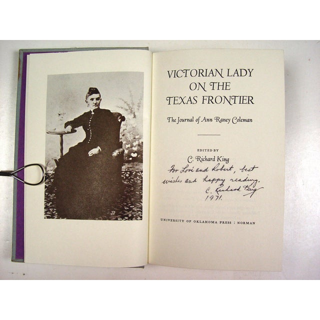 Vintage 'Victorian Lady on Texas Frontier' Book - Image 3 of 3