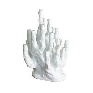 French Ceramic Tulipiere