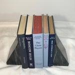 Image of Vintage Display Books in Blues - Set of 5