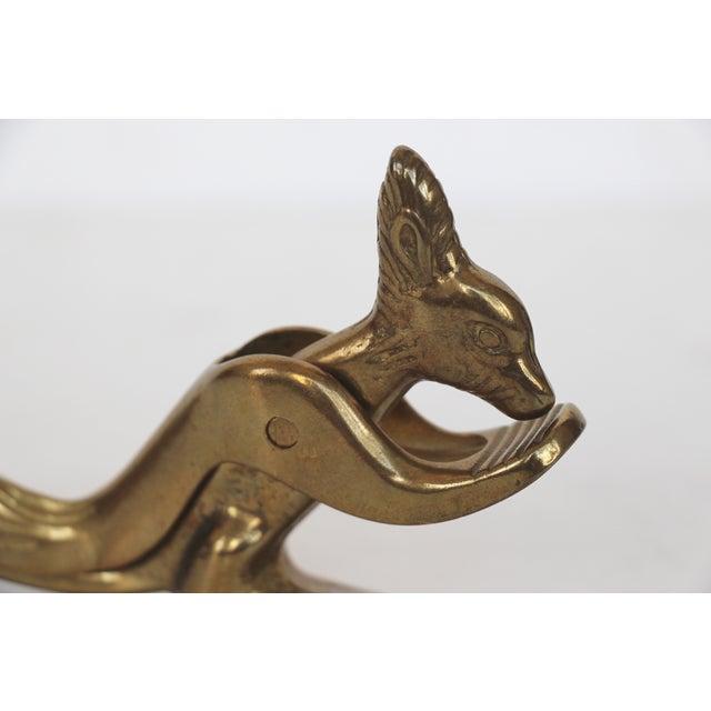Italian Brass Squirrel Nutcracker Chairish