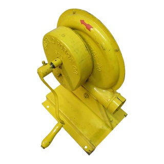 Yellow Hand Crank Pump