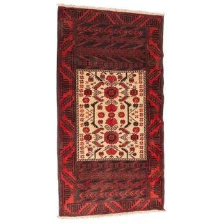 Persian Geometric Baluch Rug - 3′ × 5′6″