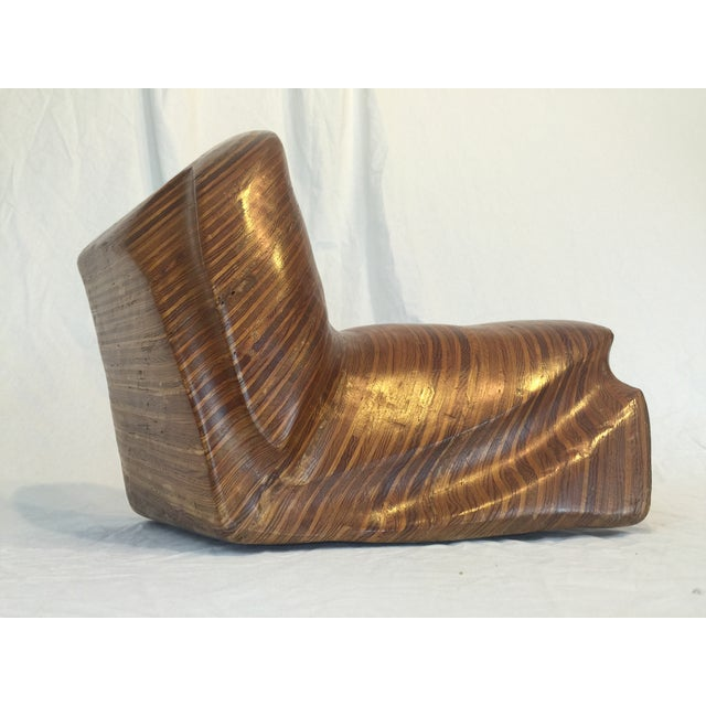 Decorative Wood Sculpture - Image 3 of 10