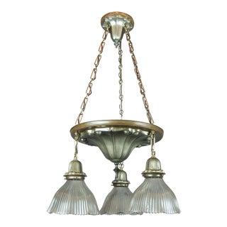 Art Nouveau Shower Light Fixture (3-Light)