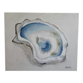 """Original """"Oyster 5"""" Mixed Media Painting"""