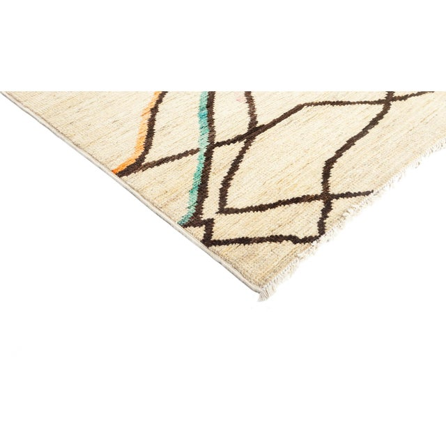 """Moroccan Area Rug - 9'1"""" X 11'7"""" - Image 2 of 3"""