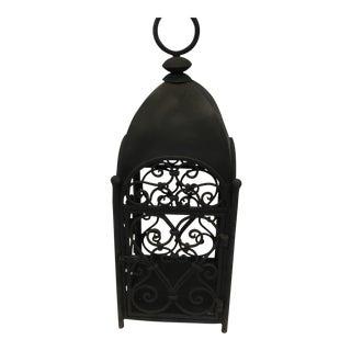 Handcrafted Artesian Iron Garden Lantern