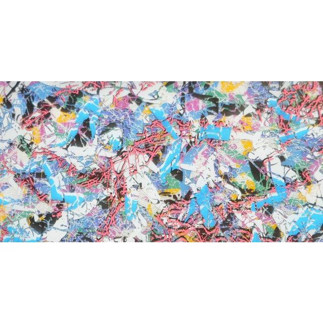 Paul Slapion Mixed Media Painting C.1985 - Image 4 of 7