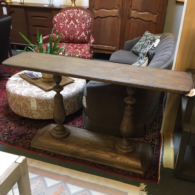 Woodbridge Furniture Greyson Console - Image 6 of 8