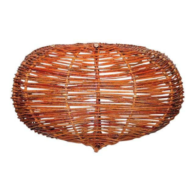 Monumental Hickory Gathering Basket - Image 1 of 6