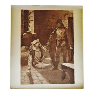 1899 Photogravure of William de Leftwich Dodge's Il Trovatore Opera Painting