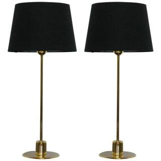 Mirak Collection Jupiter Bronze Table Lamps - Pair