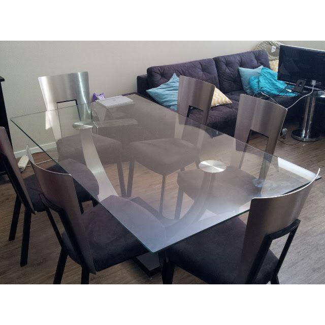 Scandinavian Designs Modern Dining Set - Image 4 of 6