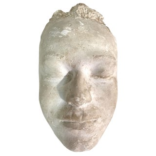 1957 Plaster Life Mask by Pat Sutton