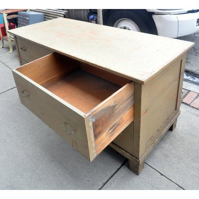 Rustic Green Dresser/Kitchen Island - Image 5 of 7