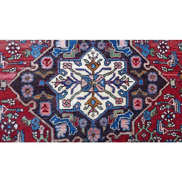 """Persian Bijar Rug - 4'10"""" X 3'5"""" - Image 2 of 6"""
