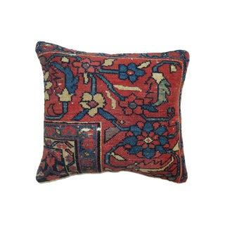 Red & Navy Persian Rug Pillow