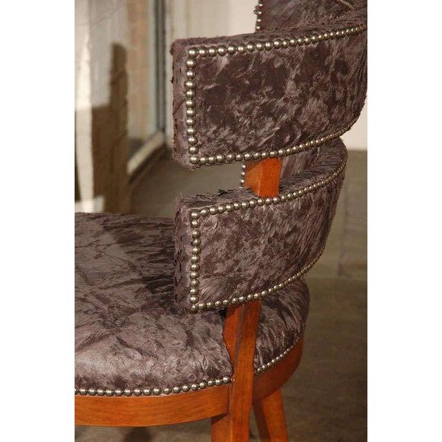Paul Marra Klismos Style Chair - Image 5 of 8