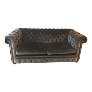 London Chesterfield Loveseat Sofa