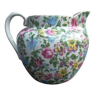 Soho Pottery Chintz Pitcher