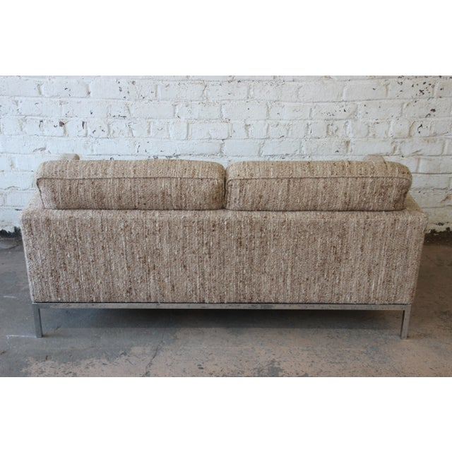 Florence Knoll Loveseat Sofa for Knoll International, 1977 - Image 8 of 11