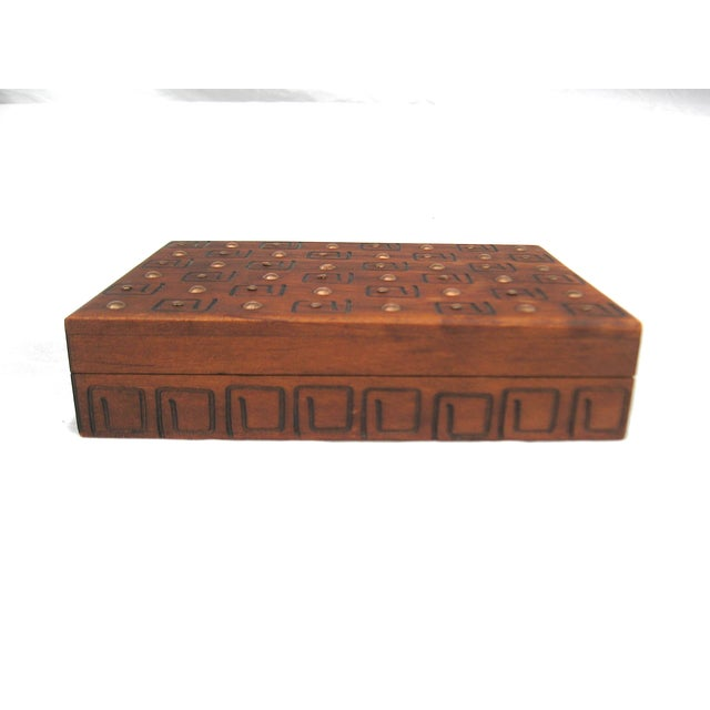 Hand Carved Trinket Box - Image 2 of 6